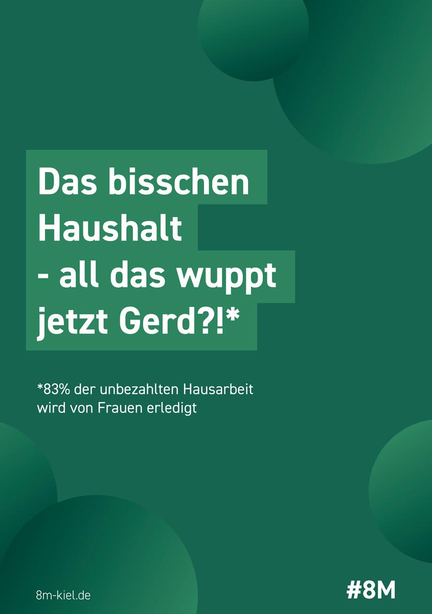 Das bisschen Haushalt - All das wuppt jetzt Gerd!?